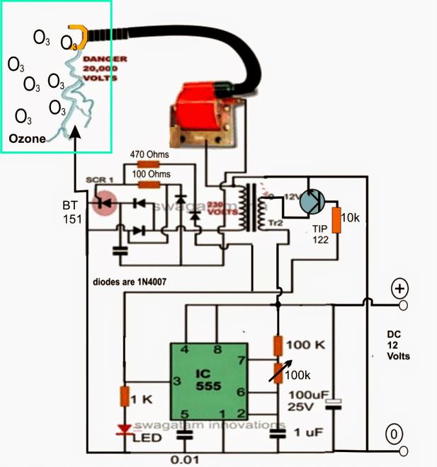 Astonishing Circuitdiagram Electricalequipmentcircuit Ozonegeneratorcircuit Wiring Cloud Picalendutblikvittorg