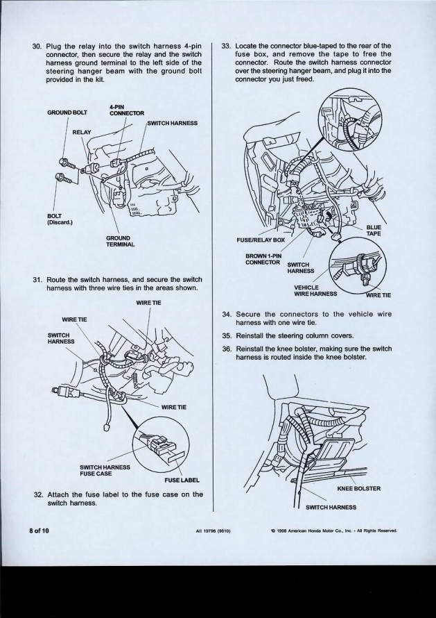 Gn 6668 1999 Honda Civic Lx Fuse Box Diagram Schematic Wiring