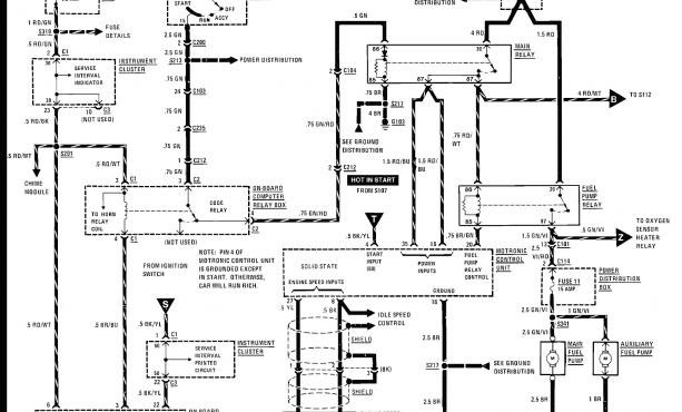 Ch 5785 1999 Ford Ranger Interior Wiring Diagram Wiring Diagram