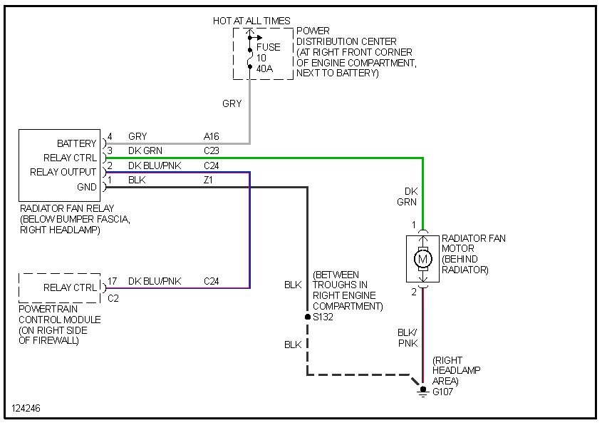af7660 2001 jeep grand cherokee cooling fan wiring diagram