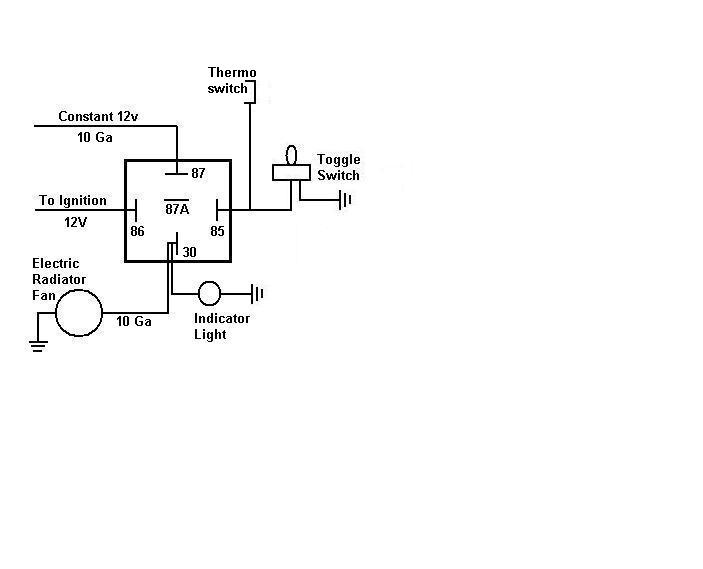 electric fan relay wiring diagram chrysler electric fan wiring diagram wiring diagram data  chrysler electric fan wiring diagram