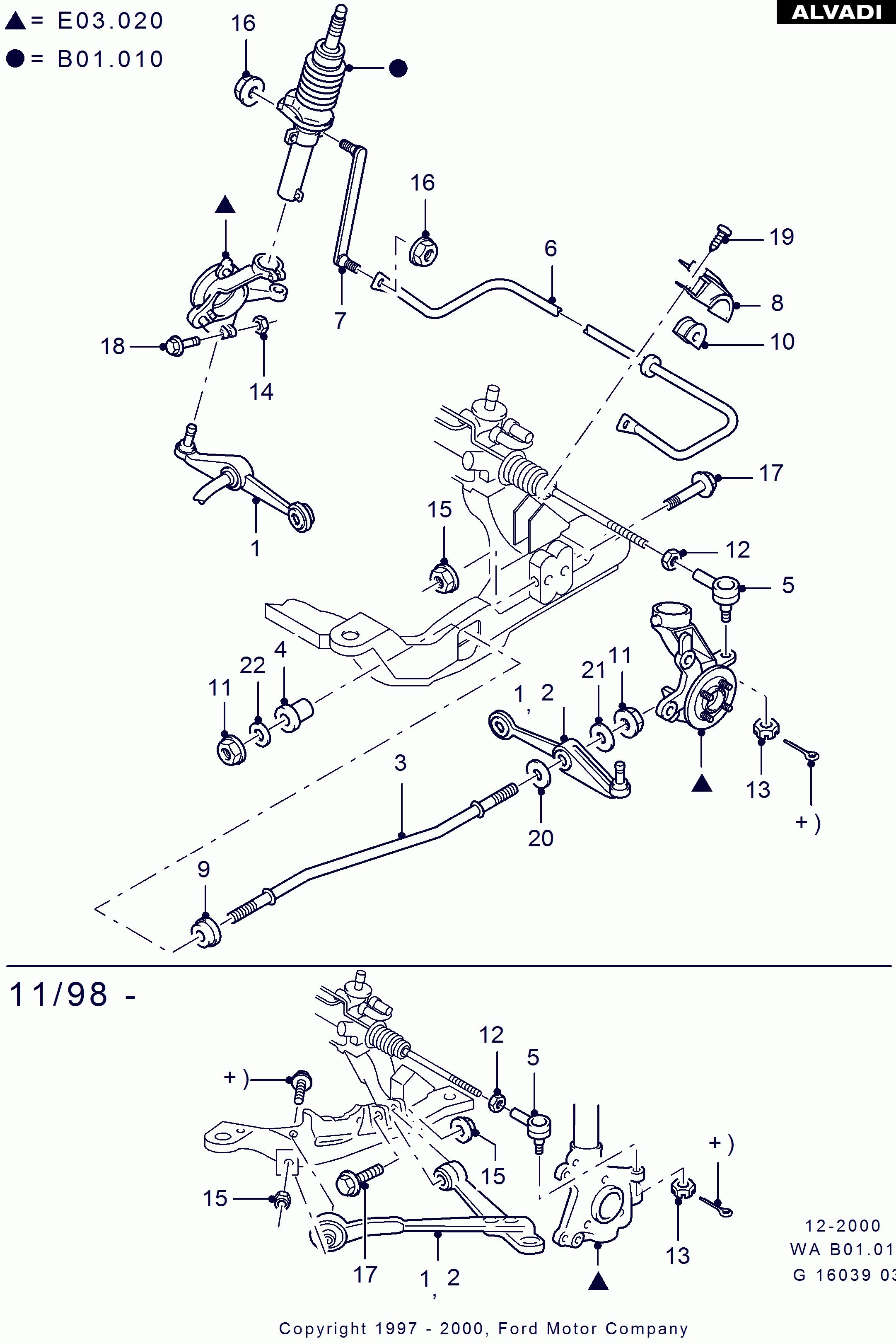 Ds 6953 2000 Ford Taurus Suspension Diagram Schematic Wiring