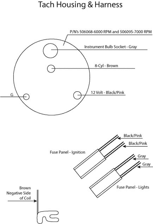 Xs 3343 1968 Chevelle Ss Tach Wiring Diagram Schematic Wiring