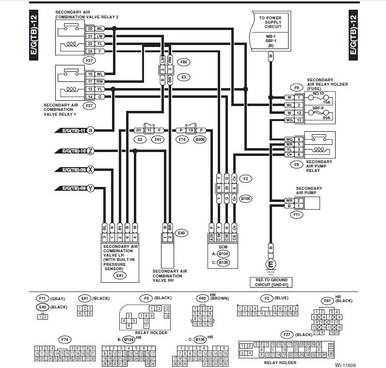 se_9370] 2004 subaru forester wiring harness schematic diagram schematic  wiring  inrebe hyedi mohammedshrine librar wiring 101