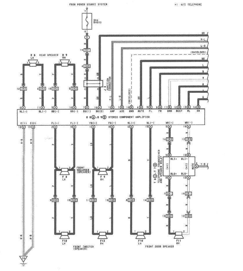 ah7813 radio wiring diagram 1990 lexus ls400 free diagram