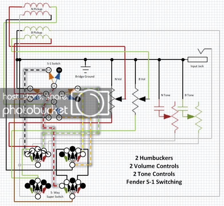 lz8612 fender s1 hh tele wiring diagram schematic wiring