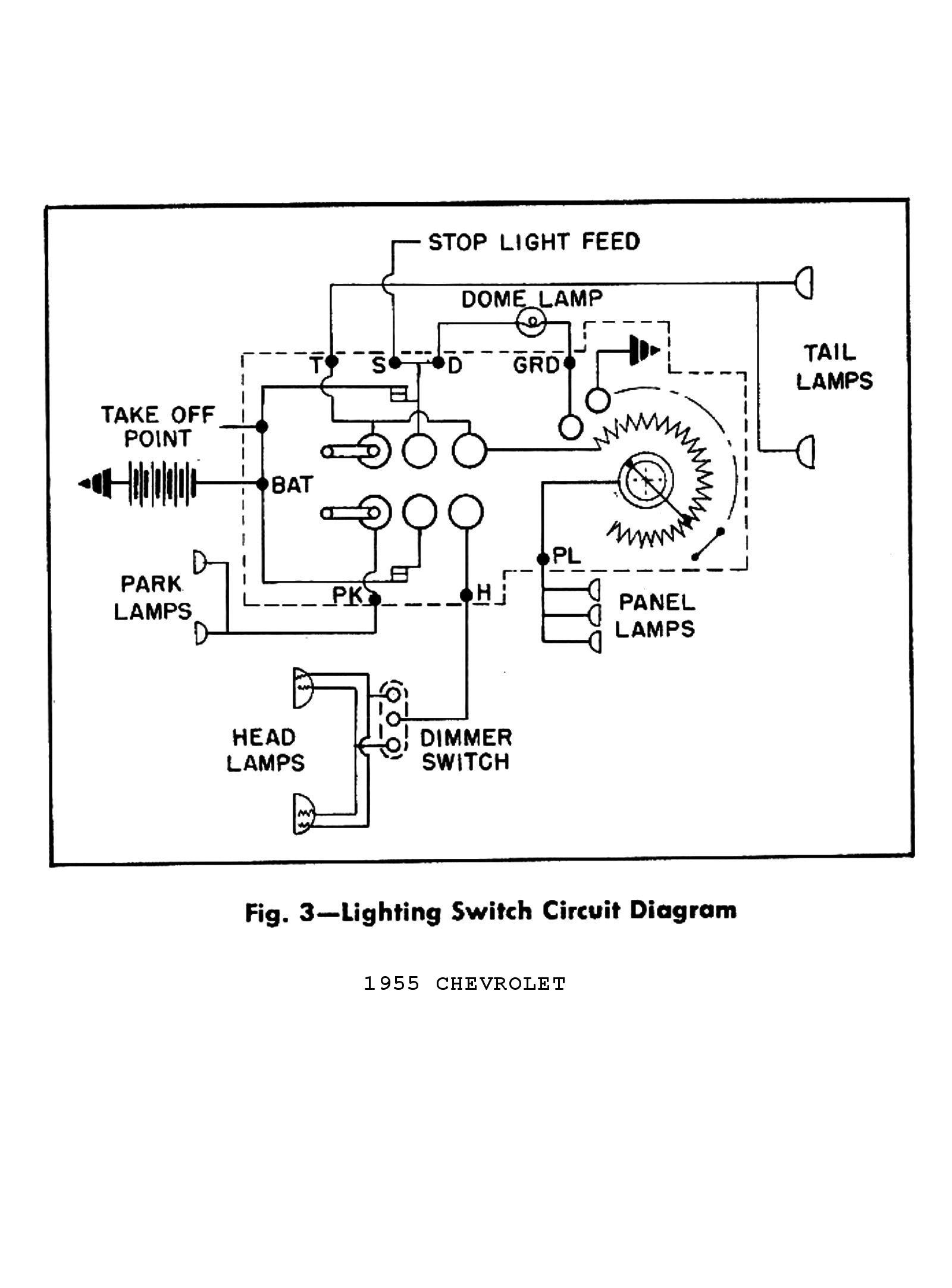 57 Bel Air Ignition Switch Wiring Diagram Wiring Diagram View A View A Zaafran It
