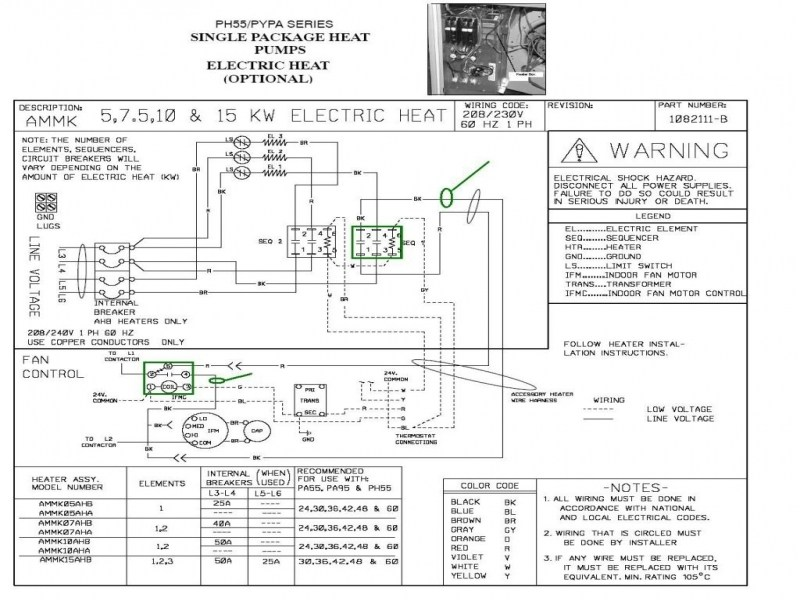 Heil Electric Furnace Wiring Diagram