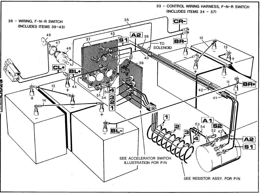 Ge 9864  Yamaha Golf Cart Wiring Diagram 2gf Wiring Diagram