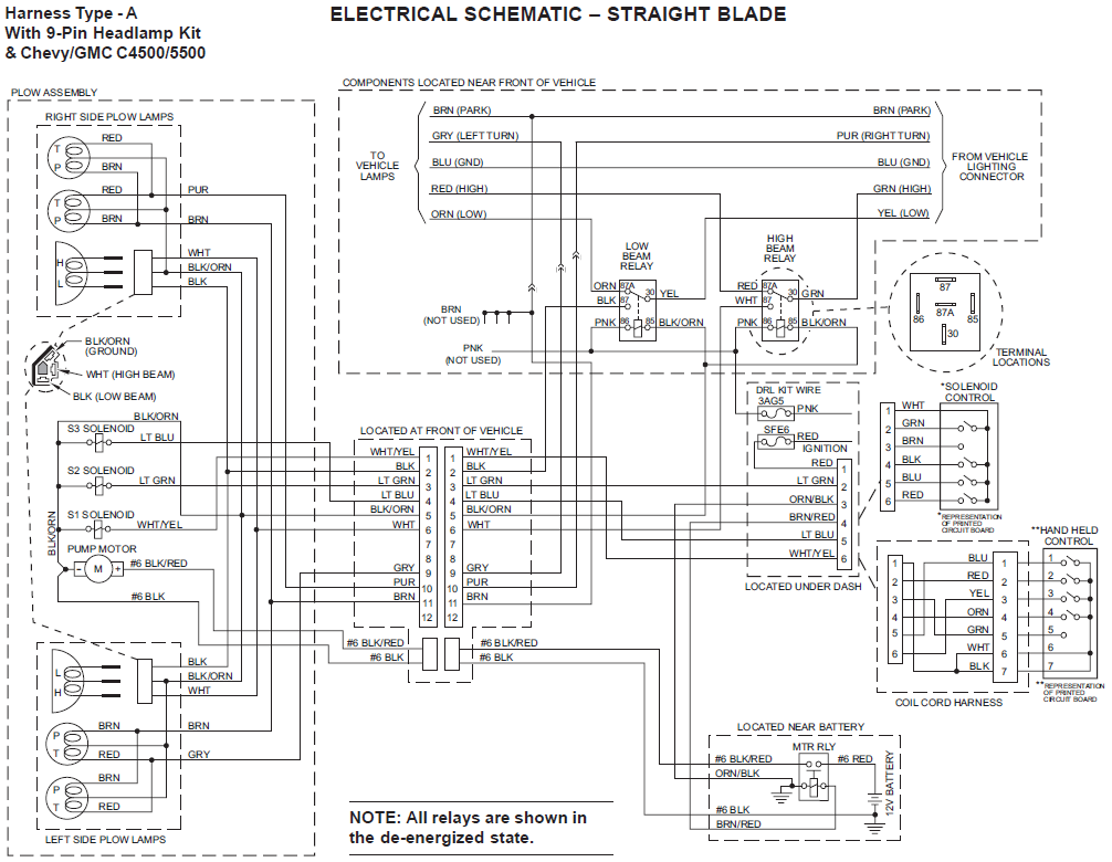 boss snow plow headlight wiring diagram yz 4837  snow plow light wiring diagram on western ultramount  yz 4837  snow plow light wiring diagram