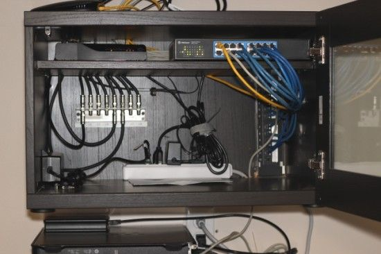 Surprising Home Network Wiring Cabinet Diy Home Network Home Tech Network Wiring Cloud Overrenstrafr09Org