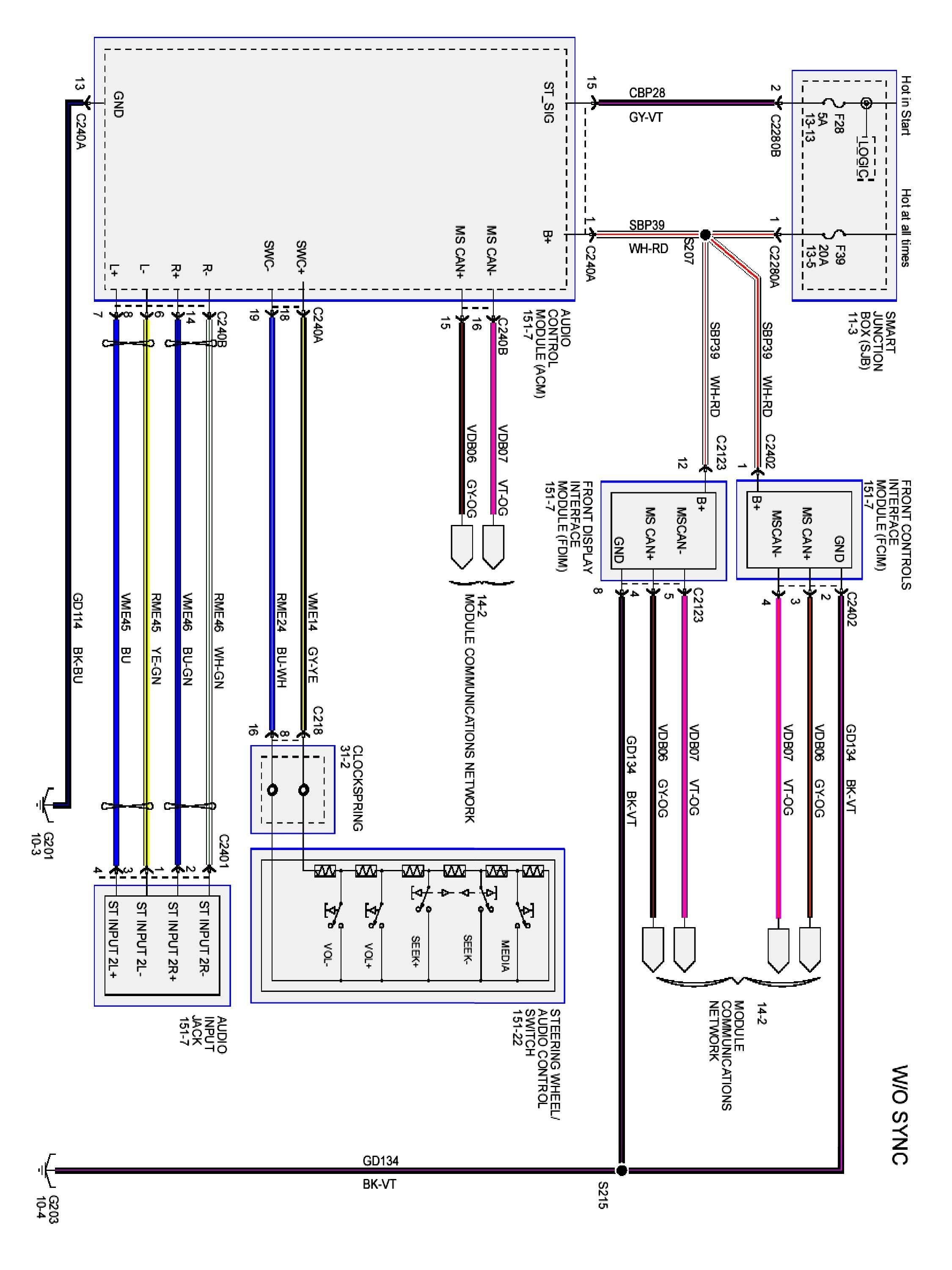 2000 Ford Focus Radio Wire Diagram | FREE WIRINGS Crowd | Speakers Wire Diagram 2007 Ford Mustang |  | Baloolandia