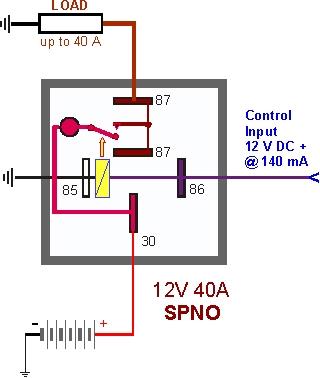 sr4930 bosch 12v relay wiring diagram free download image