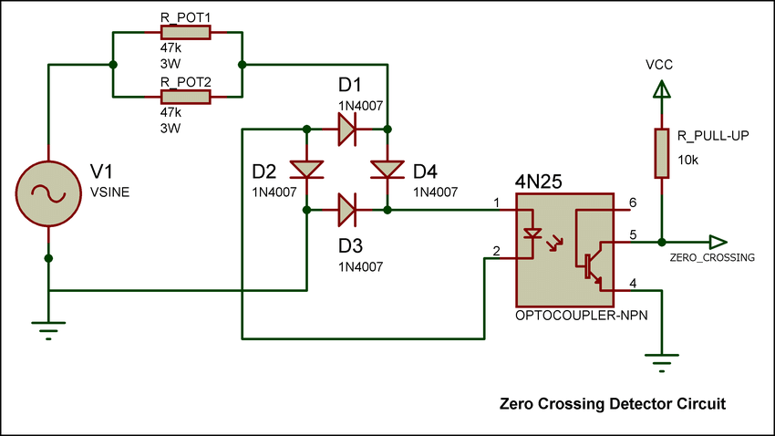Admirable Circuit Diagram Of Zero Crossing Detector Wiring Diagram Wiring Cloud Xortanetembamohammedshrineorg