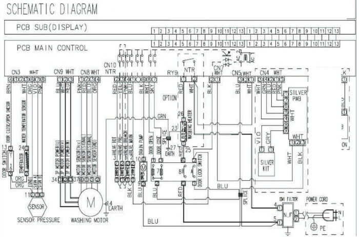 indesit washing machine wiring diagram gy 7111  washing machine door interlock wiring diagram free  washing machine door interlock wiring