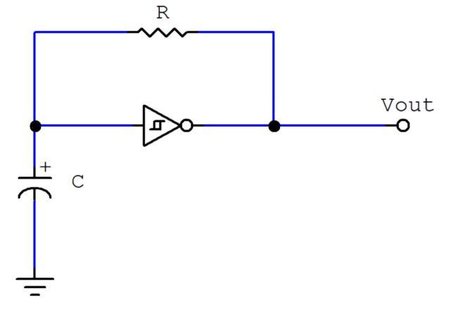 Fabulous Schmitt Trigger Oscillator Circuit Auto Electrical Wiring Diagram Wiring Cloud Ittabisraaidewilluminateatxorg