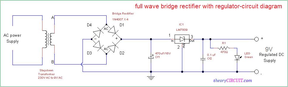 Terrific Full Wave Bridge Rectifier Circuit Diagram Wiring Cloud Staixaidewilluminateatxorg
