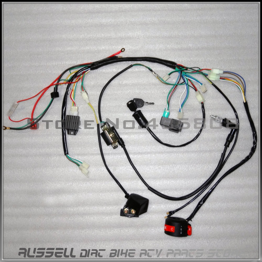 Incredible Chinese Atv Wiring Harness Wiring Library Wiring Cloud Waroletkolfr09Org