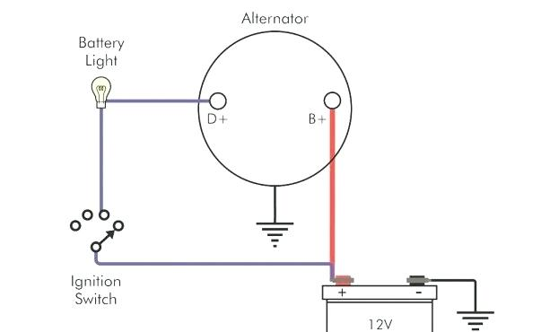 Mk 7625 One Wire Alternator Wiring Diagram Ford Free Diagram