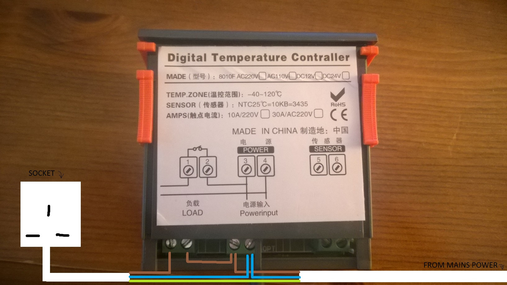 Awe Inspiring Wiring A Temperature Controller Wiring Diagram Data Wiring Cloud Faunaidewilluminateatxorg