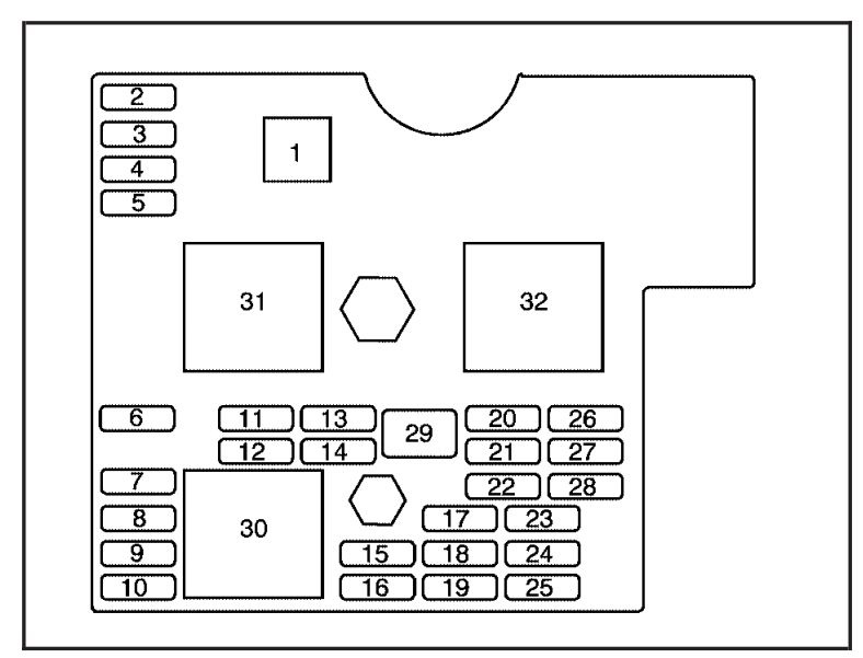 2006 Mustang Interior Fuse Box Diagram
