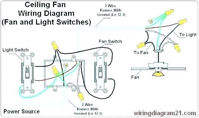 Ceiling Fan Light Switch 4 Wire