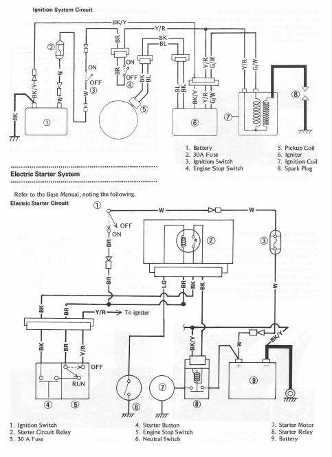 kawasaki atv 220 wiring diagram  wiring diagram cycle