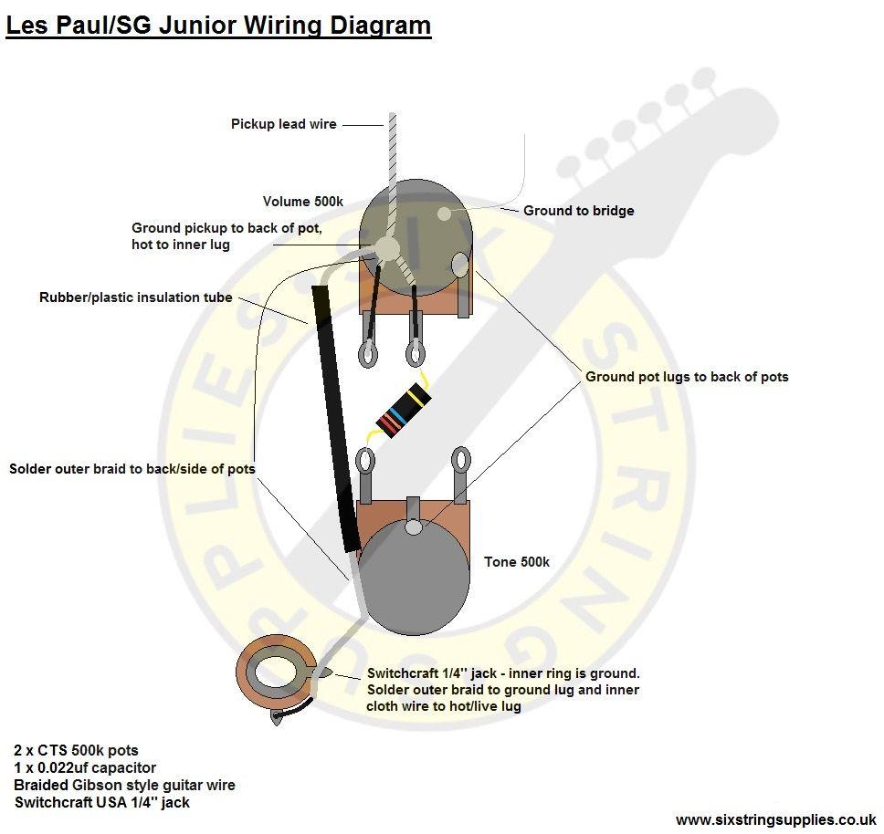 Se 2483 Junior Les Paul Wiring Diagram