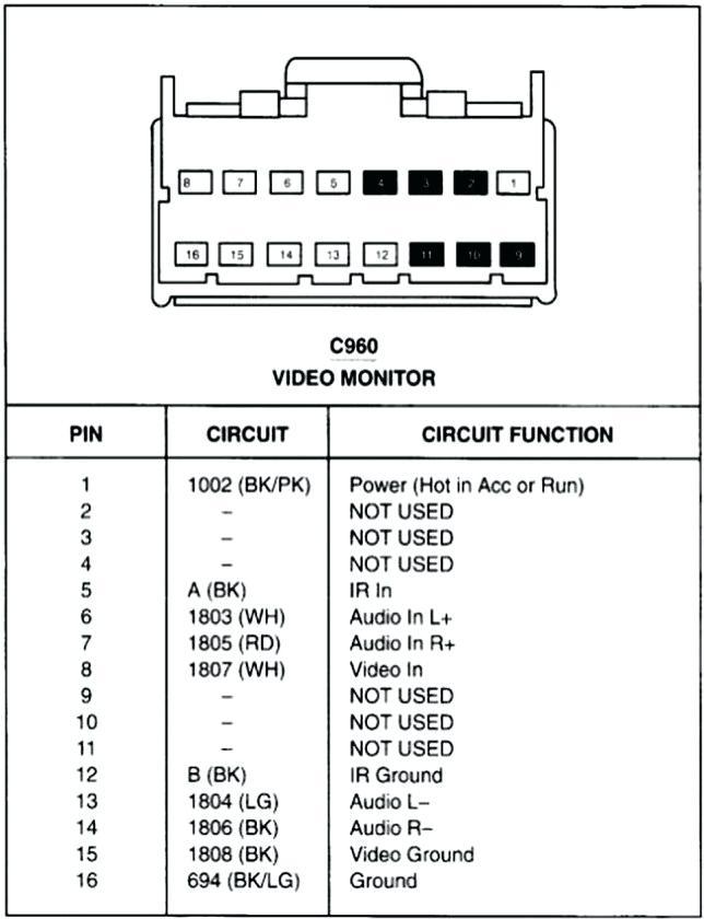 Pioneer 16 Pin Wiring Diagram Wiring Diagram