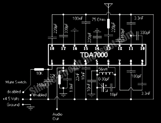 Remarkable Fm Radio Using Tda7000 Panel Switch Wiring Wiring Cloud Onicaalyptbenolwigegmohammedshrineorg