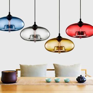 Awesome Modern Colored Glass Ceiling Light Chandelier Loft Lighting Fixture Wiring Cloud Domeilariaidewilluminateatxorg