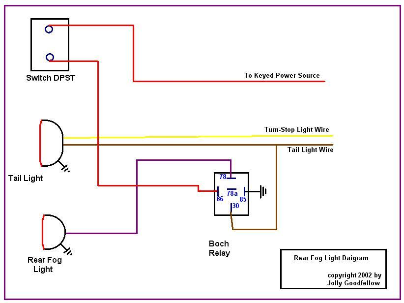 Rg 8124 Led Lights Without Wiring Also With Fog Light Wiring Diagram Free Diagram