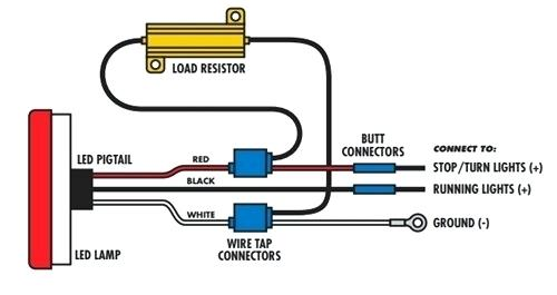 3 wire tail light wiring diagram el 3601  3 led tail light wire diagram  el 3601  3 led tail light wire diagram