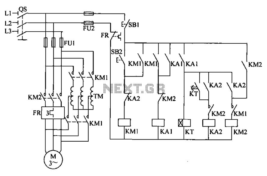 wiring diagram of auto transformer starter propane heat