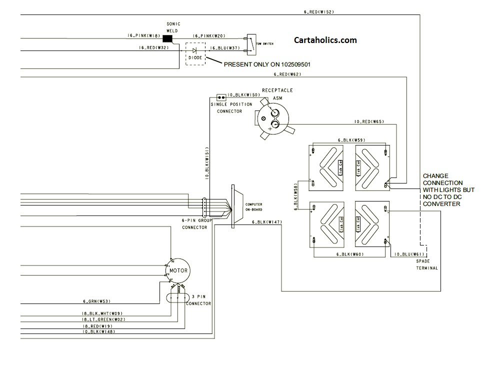 club car light wiring diagram 1995 defender 90 heater