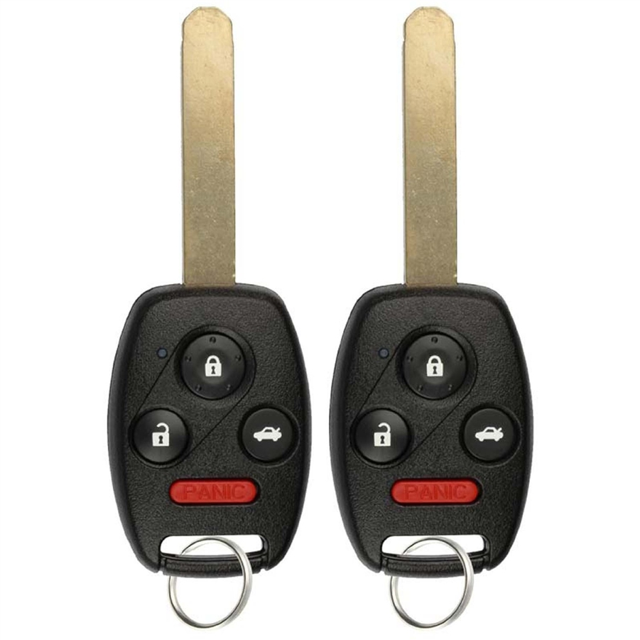 Surprising 2 Key Fob Keyless Entry Remote For Honda Accord Oucg8D 380H A Wiring Cloud Licukshollocom