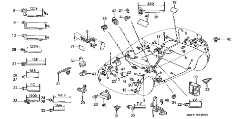 Lh 0174 Chassis Wiring199295 Civic 199395 Del Sol Schematic Wiring