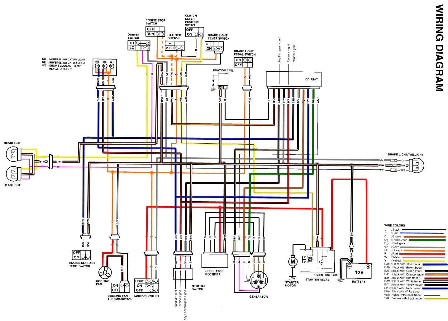 yamaha atv wiring diagram for starters gr 6875  yamaha kodiak 450 wiring diagram wiring harness wiring  yamaha kodiak 450 wiring diagram wiring