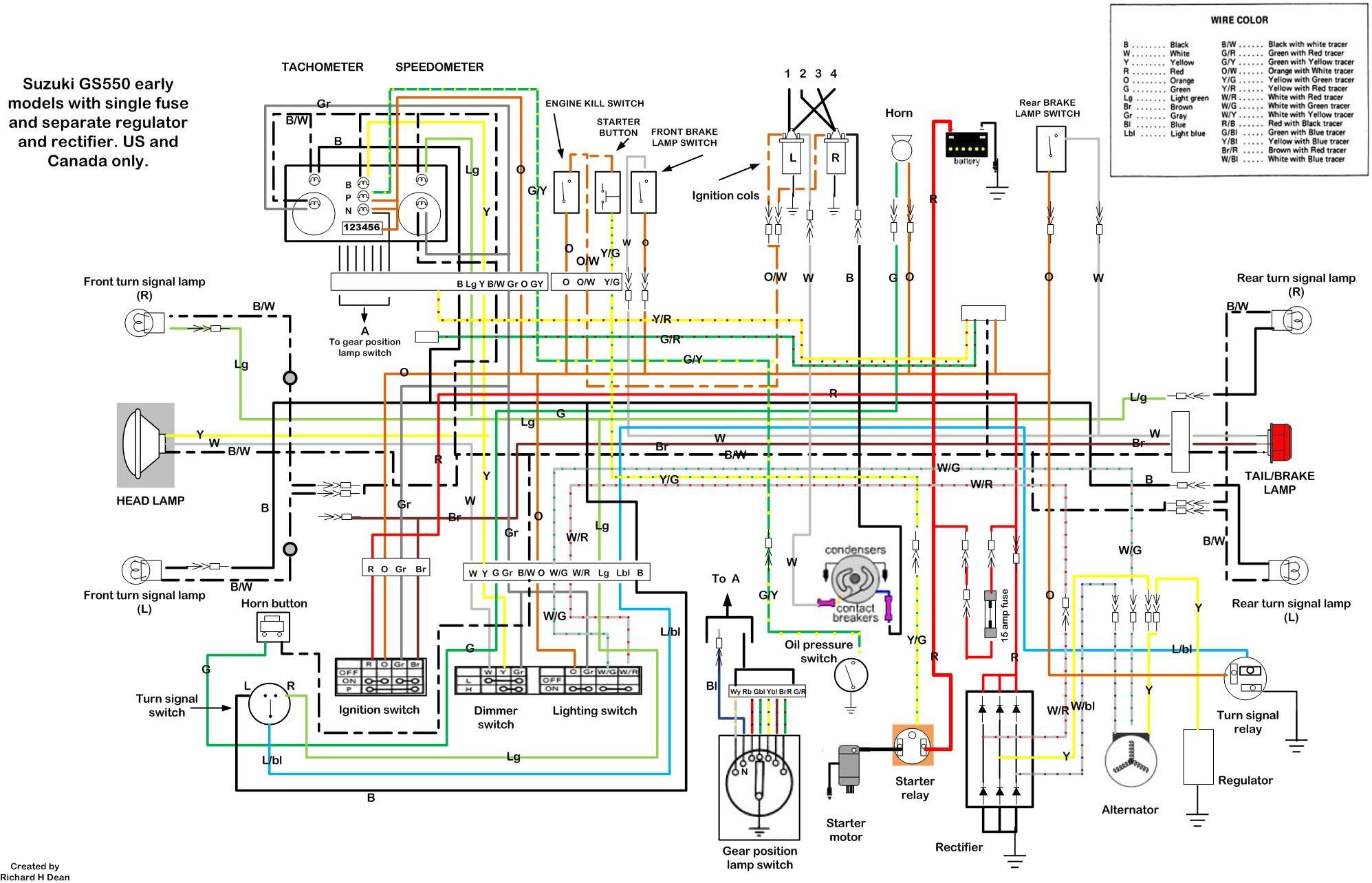 Stupendous 1981 Suzuki Wiring Diagram Wiring Diagram Wiring Cloud Waroletkolfr09Org