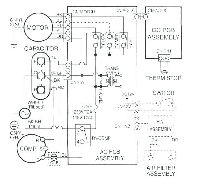 Rheem Air Conditioning Wiring Diagram