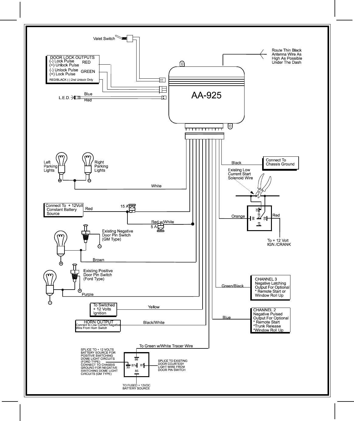 Bk 0657 Bulldog Security Keyless Wiring Diagrams Bulldog