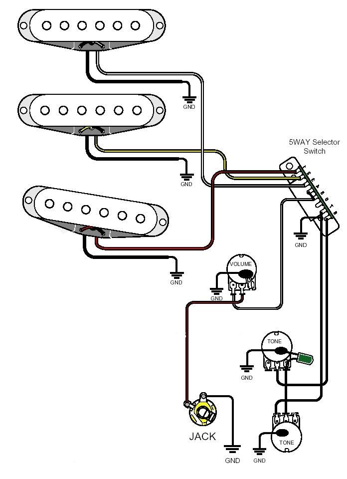 Swell Wiring A Guitar Pickup Basic Electronics Wiring Diagram Wiring Cloud Orsalboapumohammedshrineorg