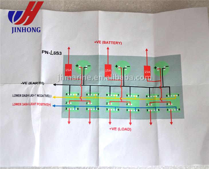 yg9372 marine grade switch panel wiring diagrams free diagram