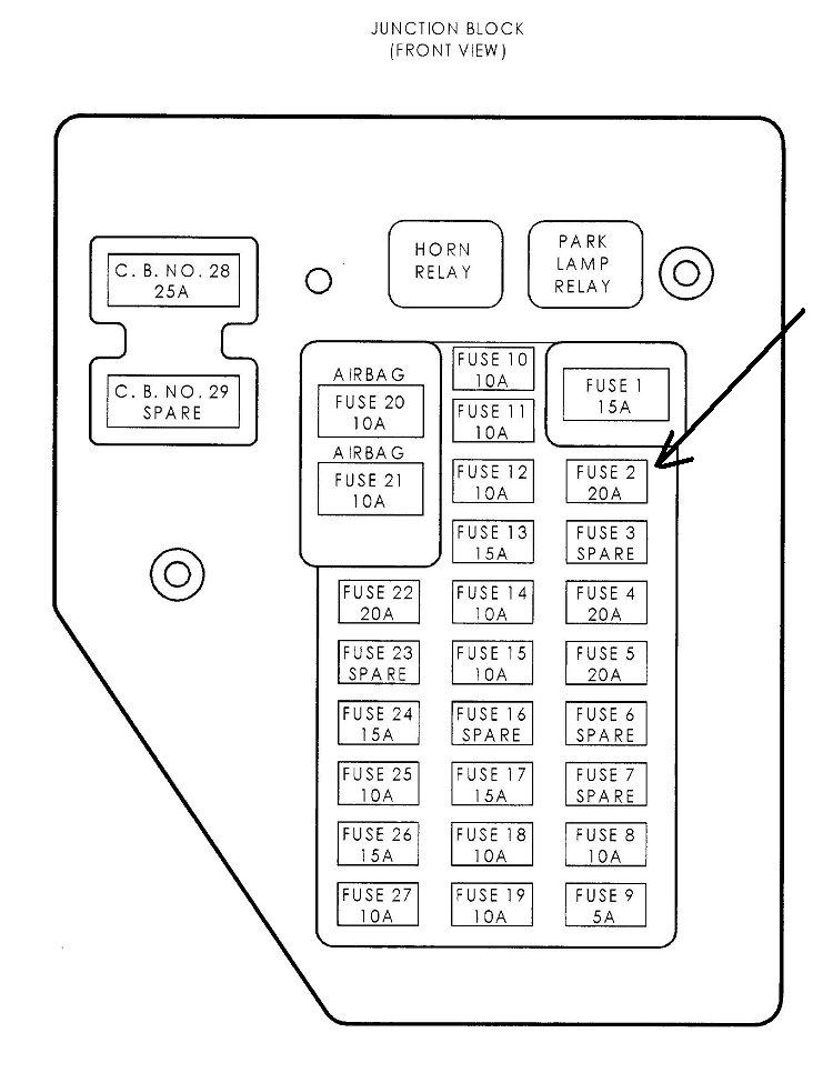2001 dodge durango fuse box diagram  auto wiring diagrams