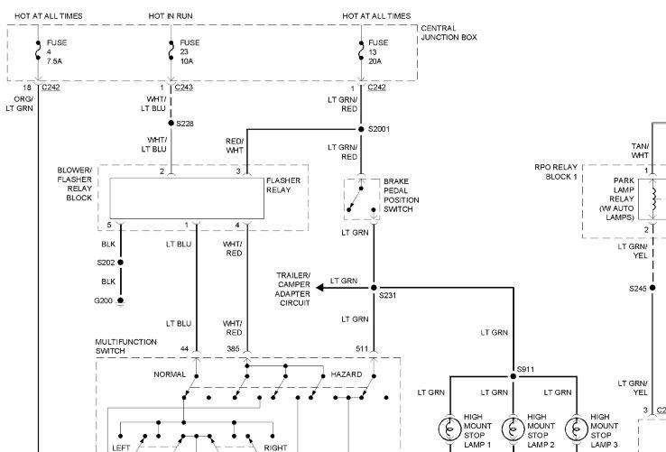 Astonishing Ford Brake Switch Wiring Wiring Diagram Wiring Cloud Vieworaidewilluminateatxorg