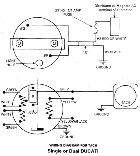 Astounding 2Wire Wiring Diagram Tachometer New Model Wiring Diagram Wiring Cloud Intelaidewilluminateatxorg