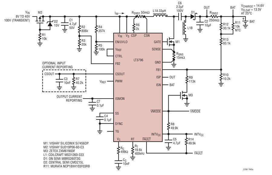 Groovy Lt3796 Sepic Sealed Lead Acid Sla Battery Charger Circuit Wiring Cloud Lukepaidewilluminateatxorg
