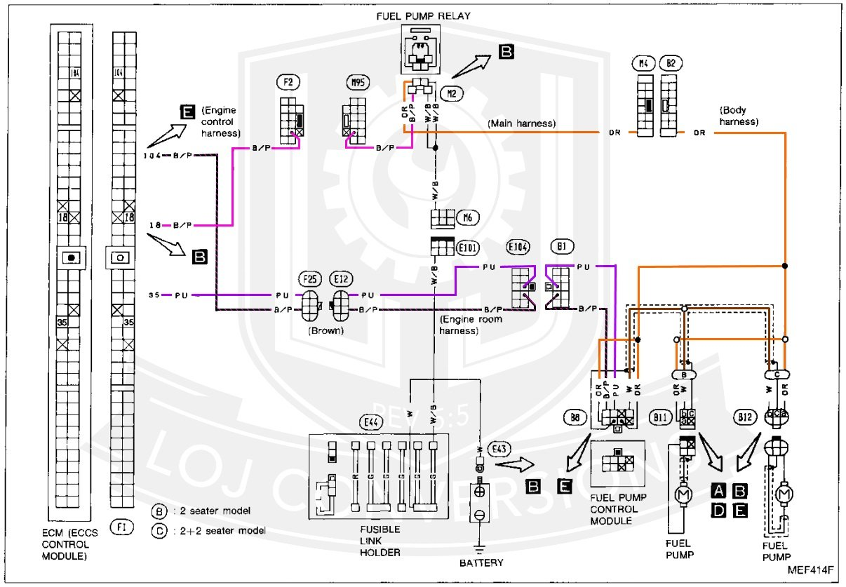 Awesome Z31 Engine Wiring Harness Wiring Diagram Wiring Cloud Dulfrecoveryedborg