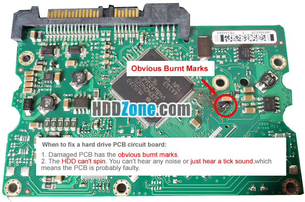 Excellent How To Fix A Hard Drive Pcb Board Hddzone Com Wiring Cloud Ymoonsalvmohammedshrineorg