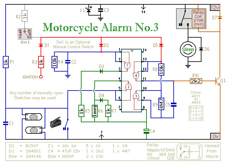[SCHEMATICS_4NL]  VB_5154] Two Simple Relay Based Motorcycle Alarms Download Diagram | Alarms Wiring Diagrams For School |  | Caba Tixat Exxlu Ivoro Rect Mohammedshrine Librar Wiring 101
